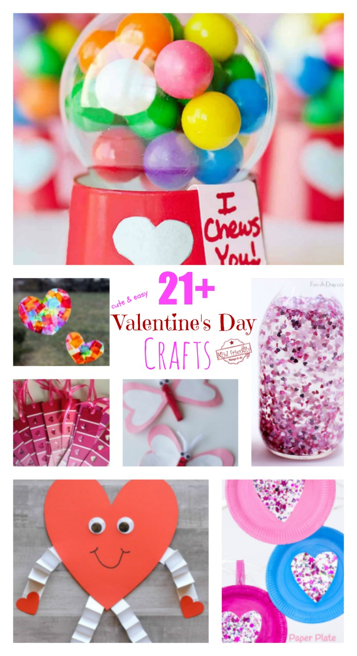 valentine day crafts