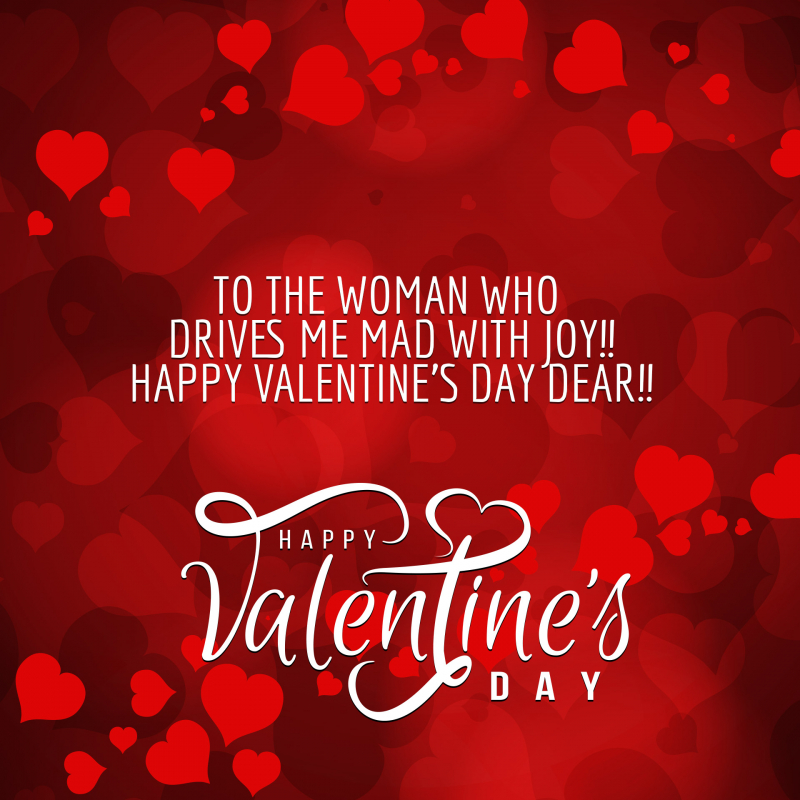 valentine day greetings for the girl