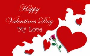 valentines day card saying