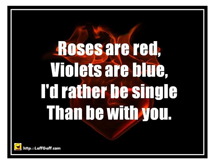 funny valentines day poems