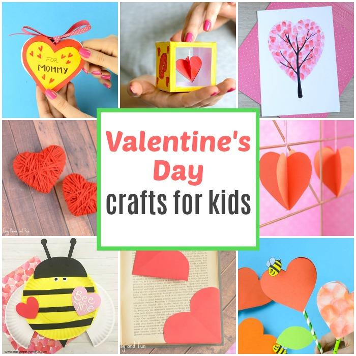 Fun Valentines Day Crafts for Kids